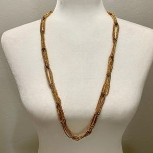 Banana Republic Multi-chained Necklace